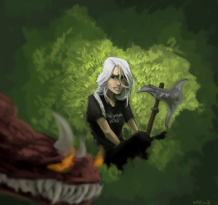 follow me into the jungle by kateppi
