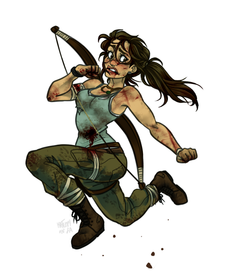 BAD LUCK LARA by kateppi
