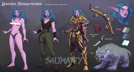commission Amavra Moonstrider by saltmatey