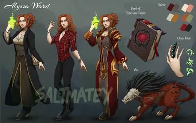 commission Alyssa Ward by saltmatey