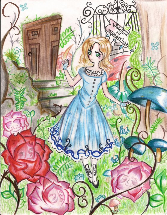 tim burton alice in wonderland by hynathia on DeviantArt