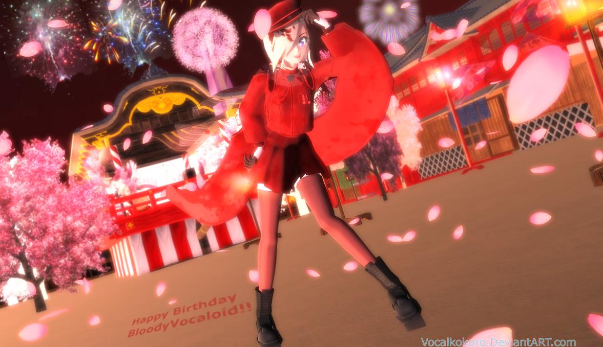 Senbonzakura! (Happy Birthday BloodyVocaloid!!) by Vocalkokoro