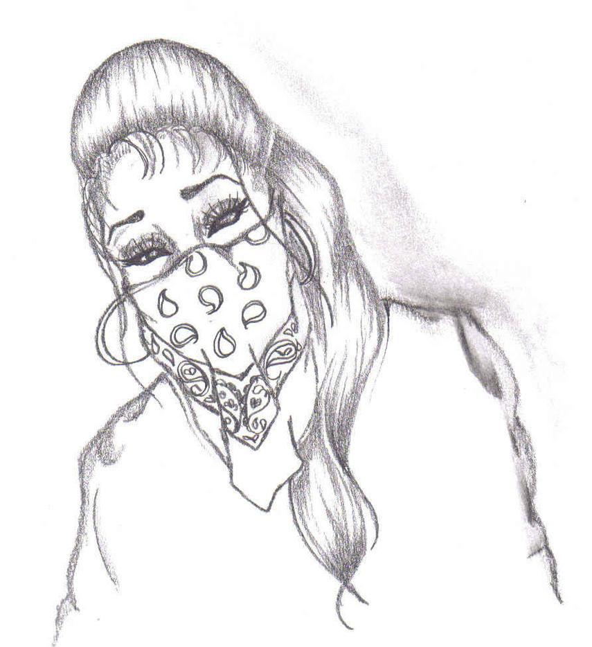 Gangster Sketches: Gangster Girl By MiszFortune On DeviantArt