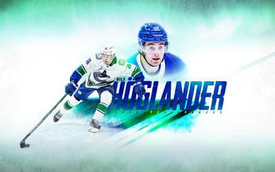 Nils Hoglander - Vancouver Canucks Wallpaper by motzaburger