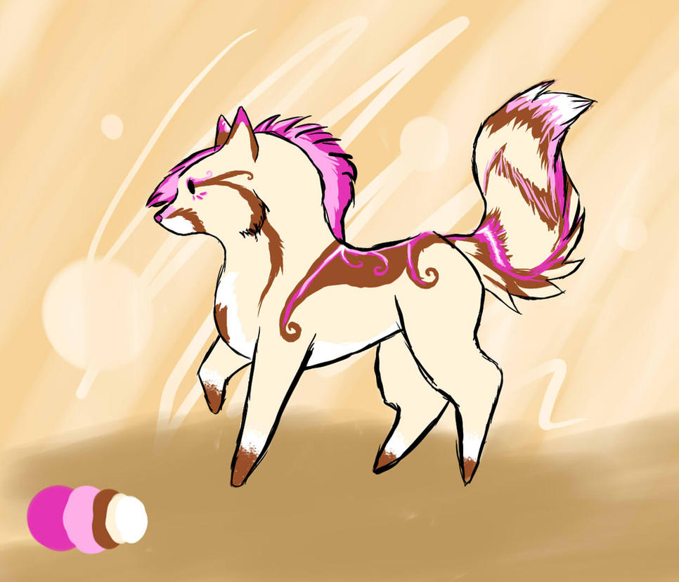 Adoptable canine by snowpups123