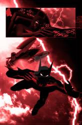 Batman beyond page 2 by cirus5555