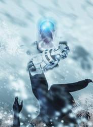 Batman Beyond Freezing by cirus5555