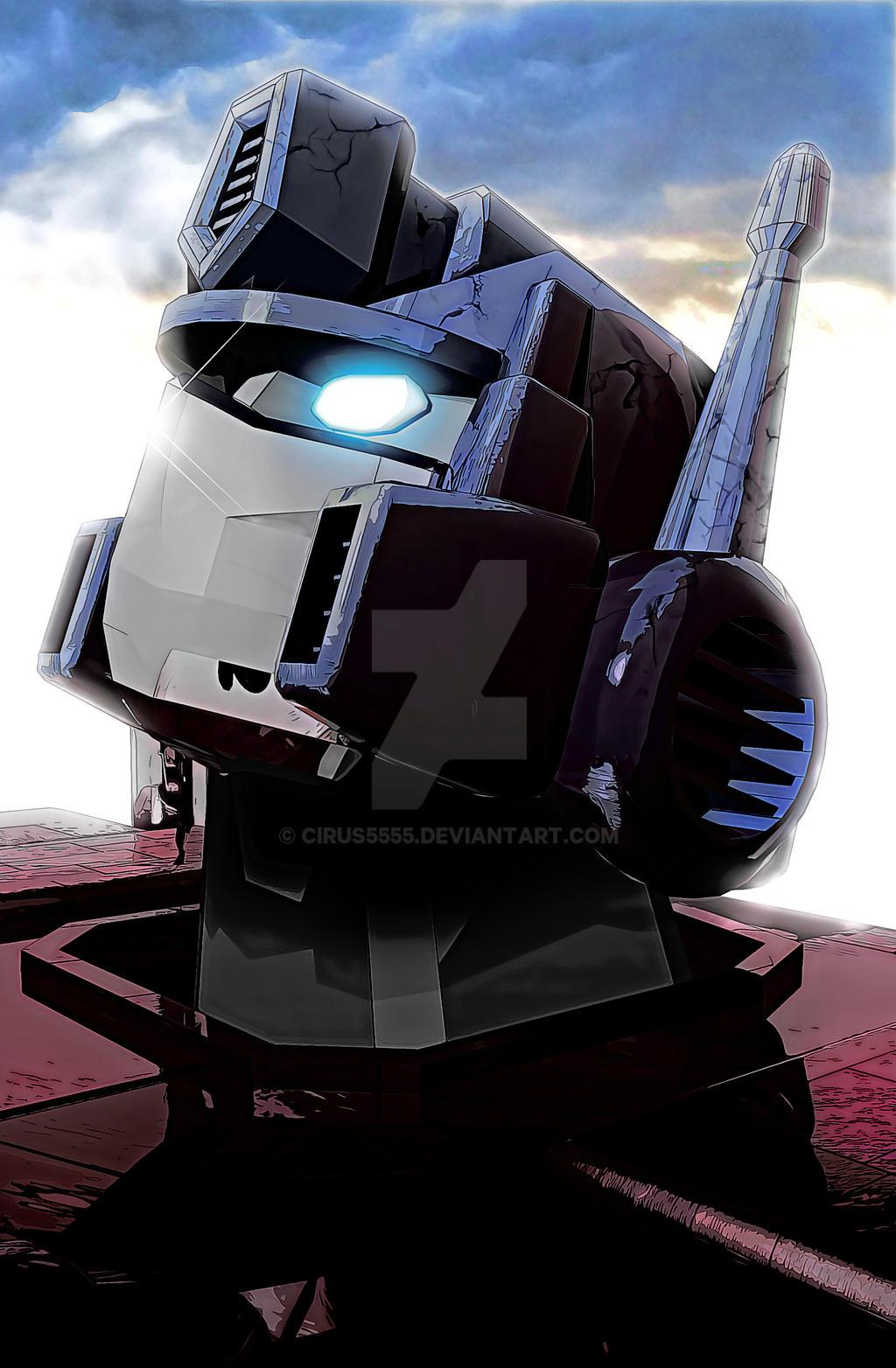 Optimus prime by cirus5555