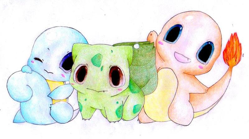 Pokemon by Bethybops