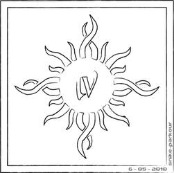 Godsmack logo outline