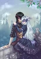 Yukiko and Aya by Andreia-Chan