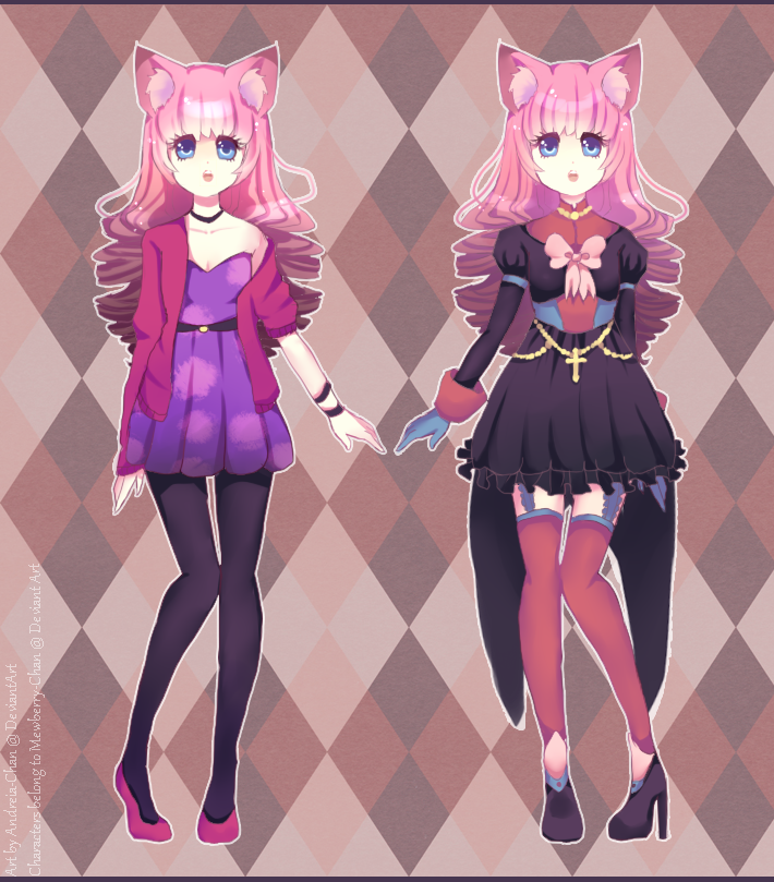 Twin Custom Adoptables by Andreia-Chan