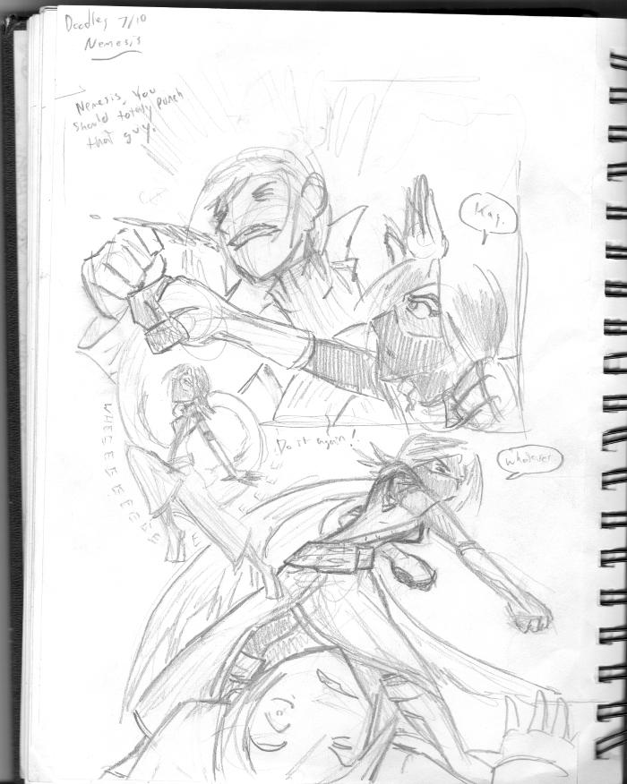 Doodle: Iris Skye Again by SergeXIII