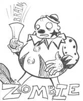 Zombies Vs Humans Cards 5