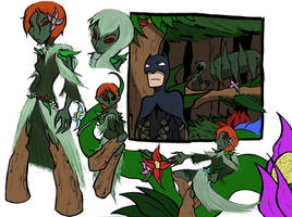 Redesign: Poison Ivy by SergeXIII