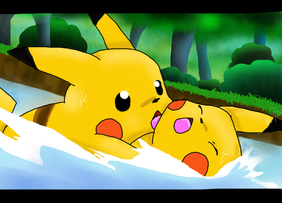 Pikachu's Goodbye by Tigerparadise on DeviantArt Pikachu And Ash Say Goodbye