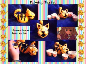 Palmtop Tea Set by Tigerparadise