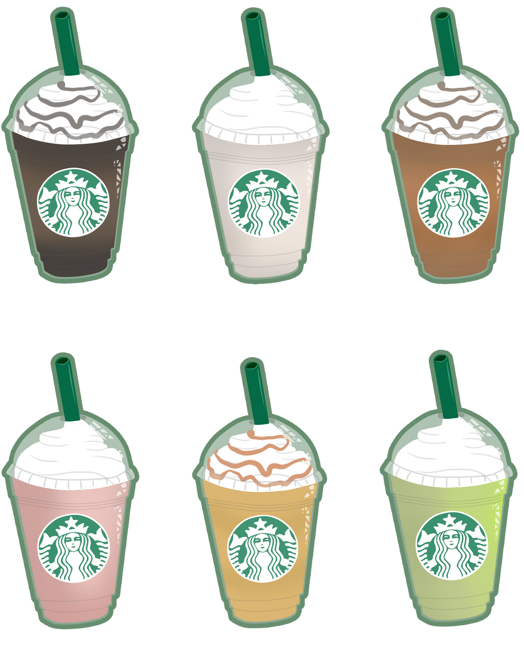 The Smallest Frappuccino By Tigerparadise