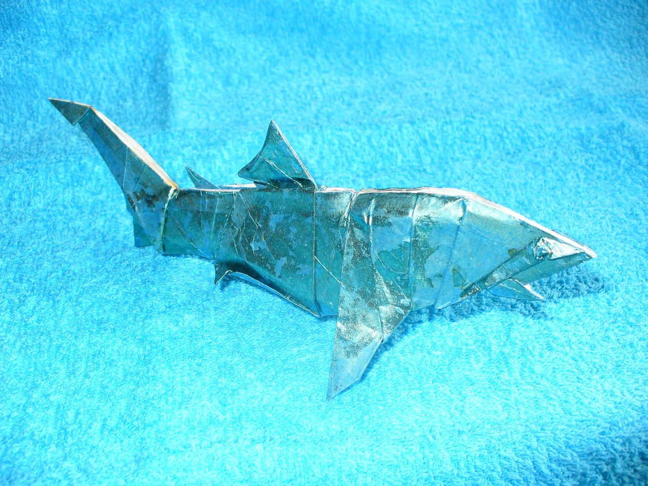 paper blue shark tiburon azul by figuer on paper blue shark tiburon azul by figuer