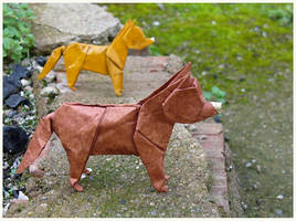 Dog the third - Perro tercero by Figuer