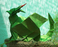 Green Dragon by Figuer