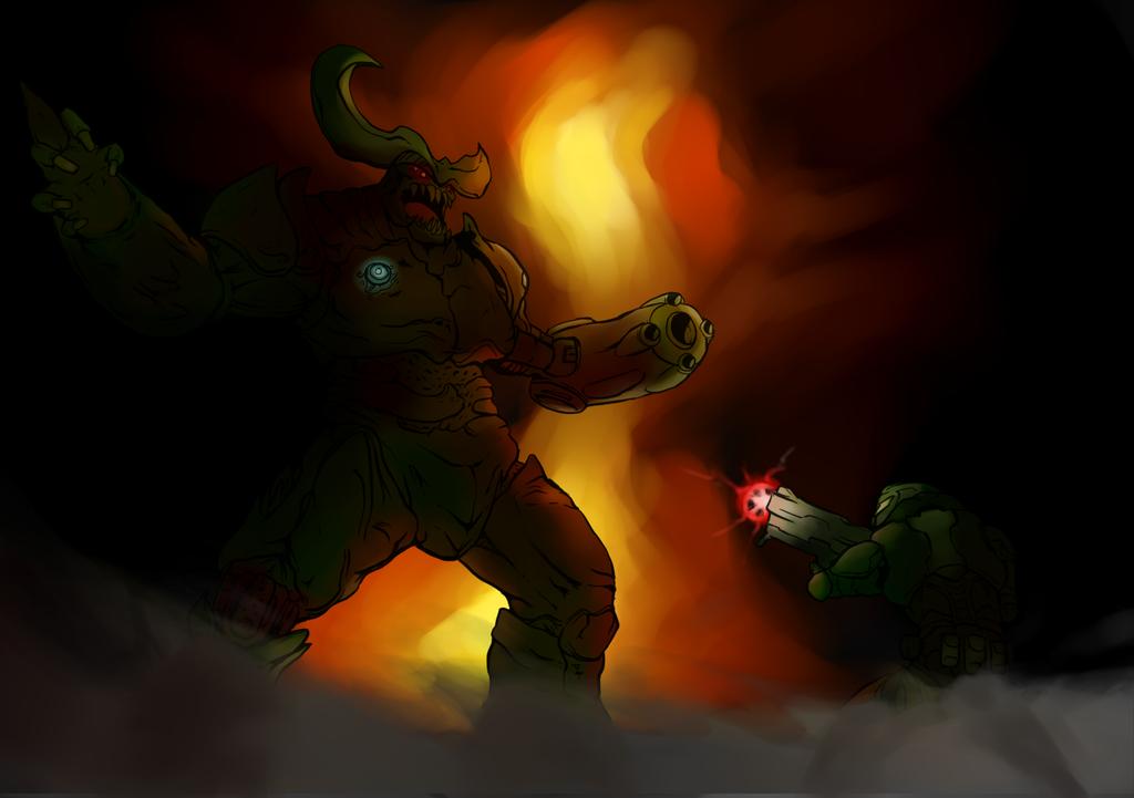 Doom Slayer by ZoroFab