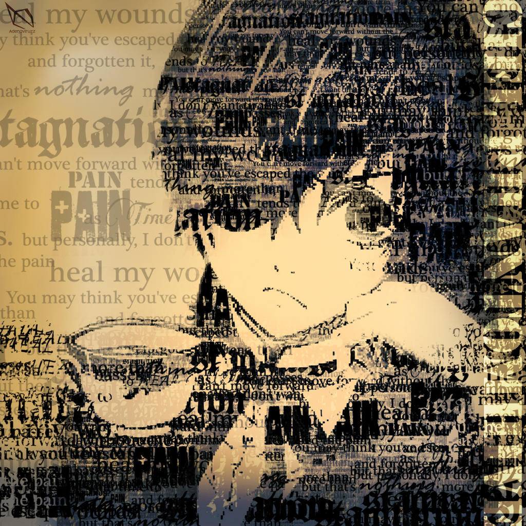 Ciel Portrait Typography by Adenoviruzz