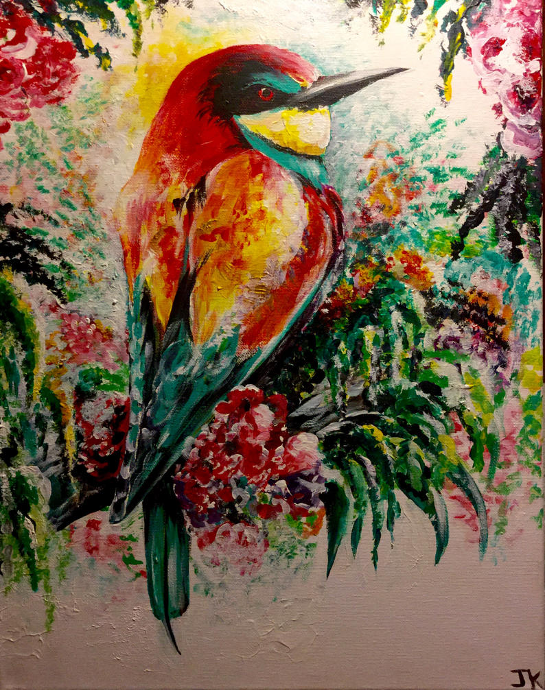 Bee-eater by ArtbyjoelK