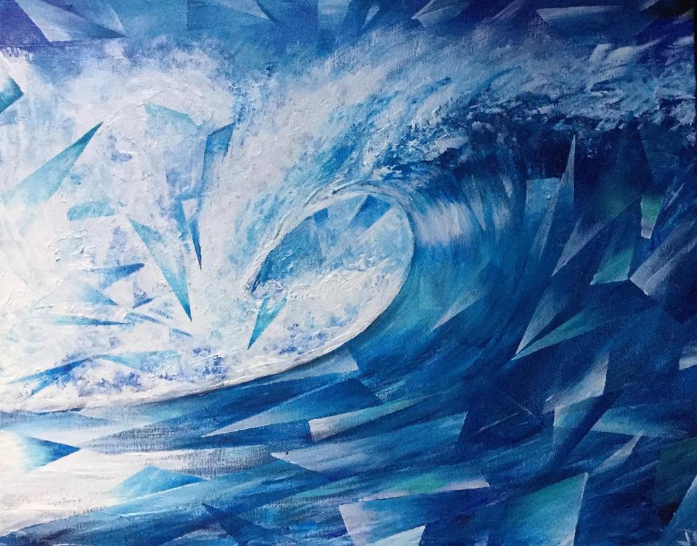 Deco Wave by ArtbyjoelK