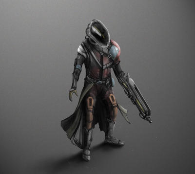 Destiny Character by Daveyclay