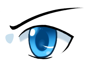 Image result for drawn anime eyes