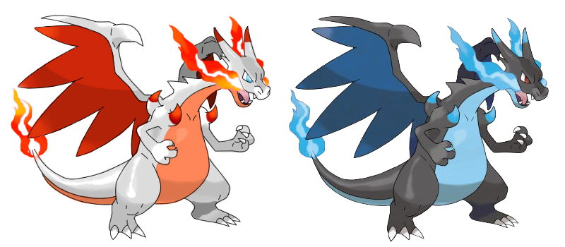 Shiny mega charizard x by avatarfan25 on deviantart - Mega evolution dracaufeu ...