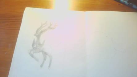 Xerneas Sketch - 2014