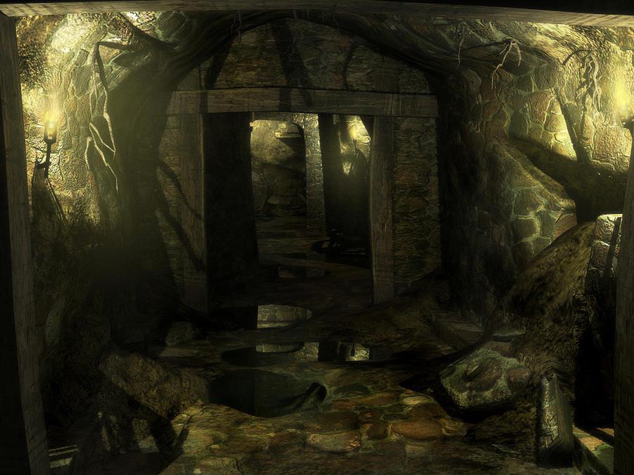Secret passage by Summerson