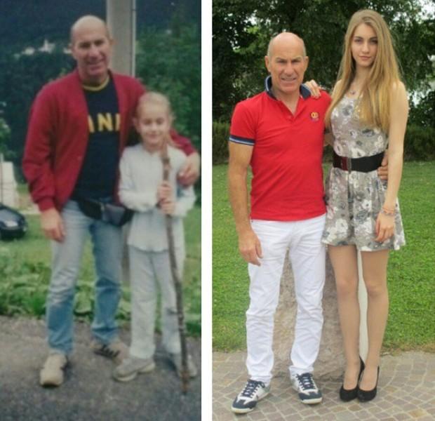 Girl Grows Taller Story