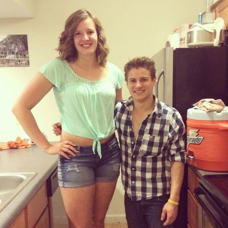 how to look taller than my girlfriend