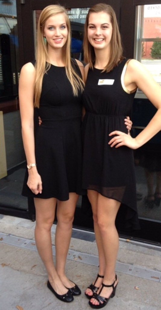 Kara and Mikaela 6ft5 196cm and 6ft2 188cm by ...
