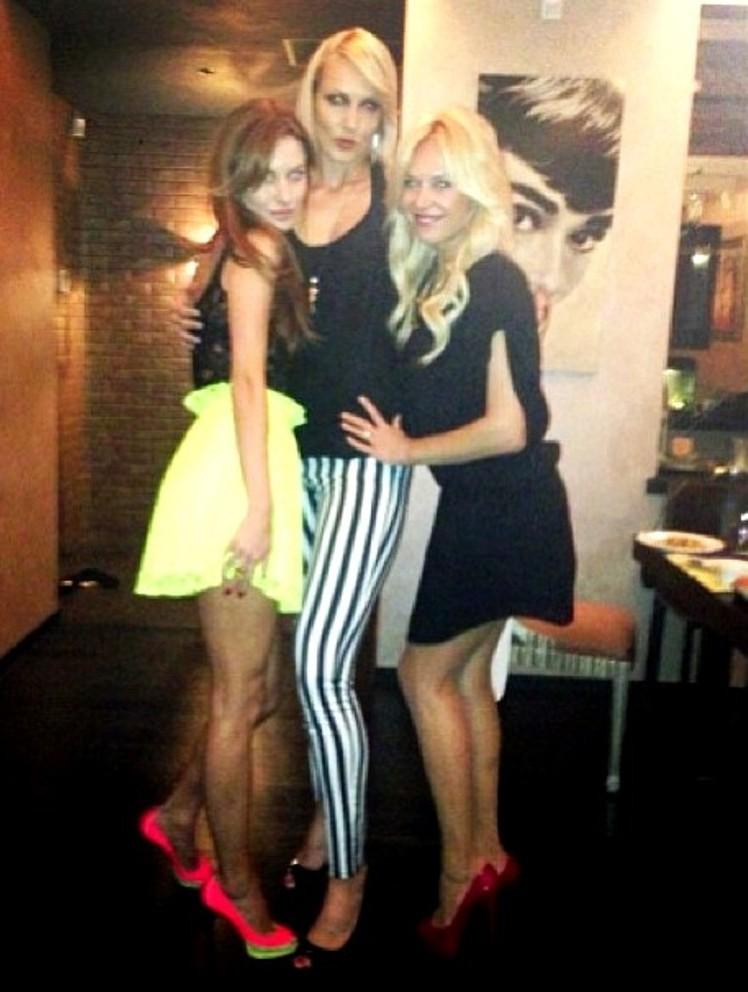 Yelena Leuchanka 195cm and Audrey by zaratustraelsabio on ... Yelena Leuchanka