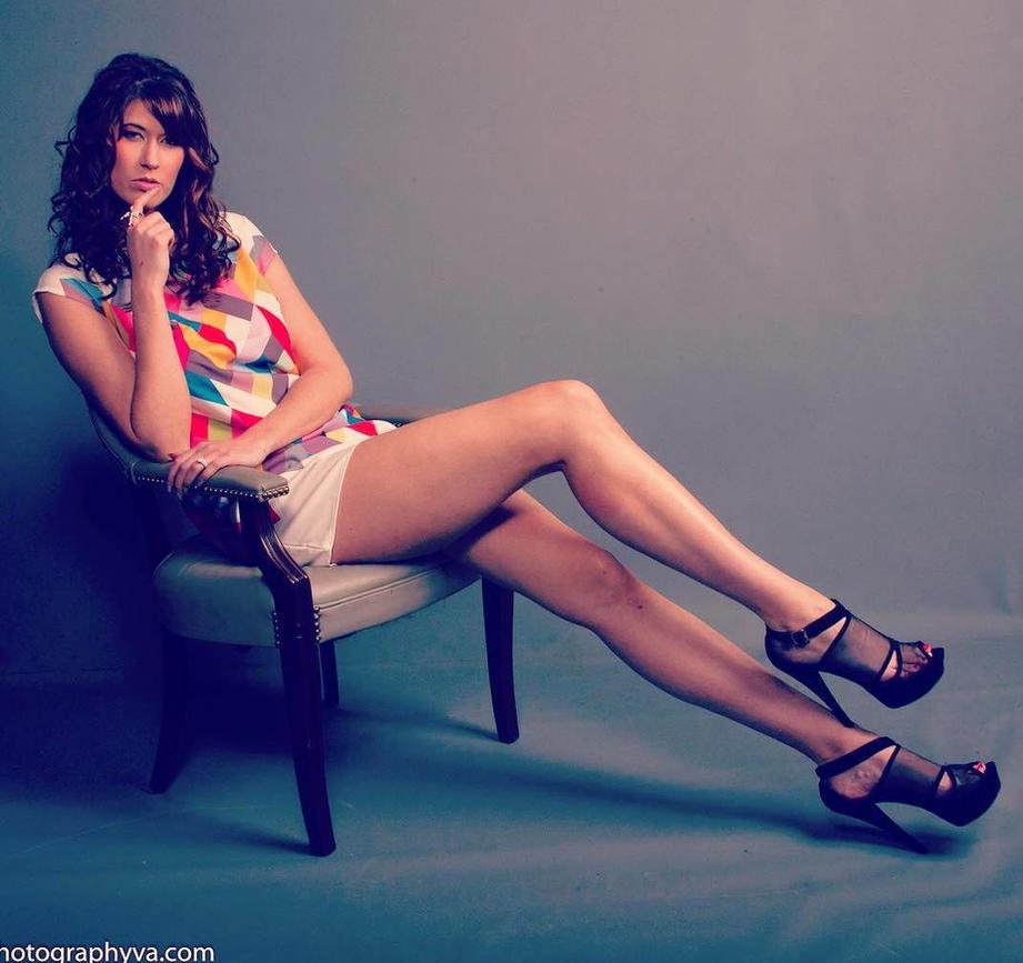 6ft6 Lexie Wearing 8in Heels By Zaratustraelsabio On