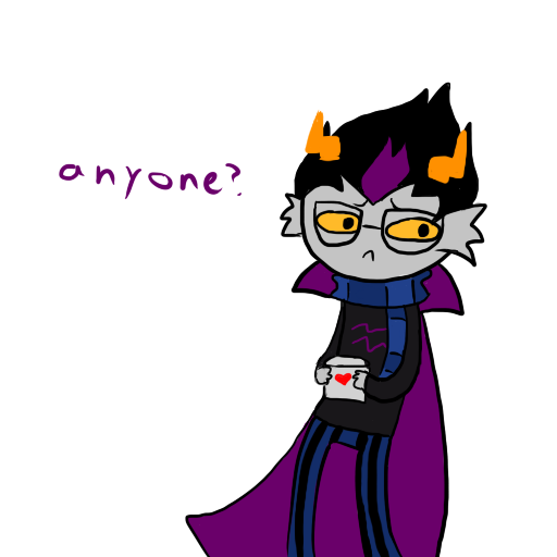 Eridan:Get Ready For Valentine's Day by Torn-apart-paper