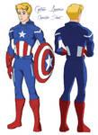 Captain America Character Sheet