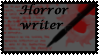 Horror writer Stamp by Aki-san24