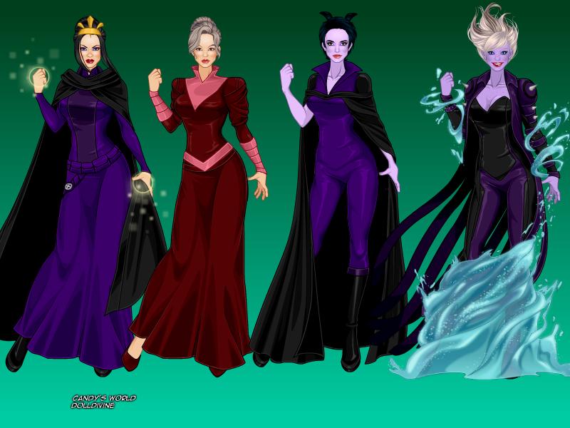 disney super villains 1 by mismae on deviantart