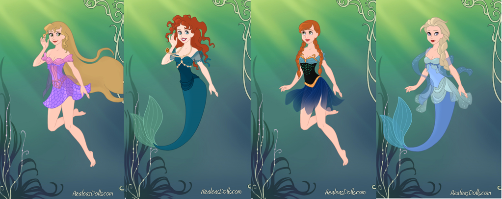 Disney Princesses As Mermaids Images Pictures Of Disney Princesses As Mermaids