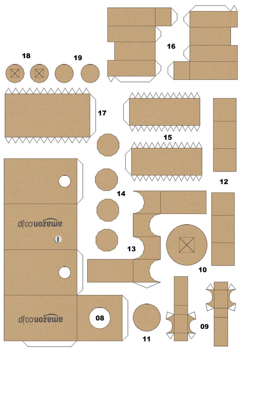 Danbo Papercraft B