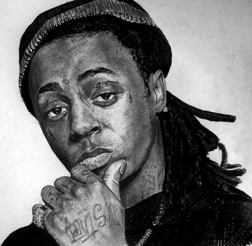 Pencil Drawings Of Lil Wayne Lil Wayne by fabriceg ...