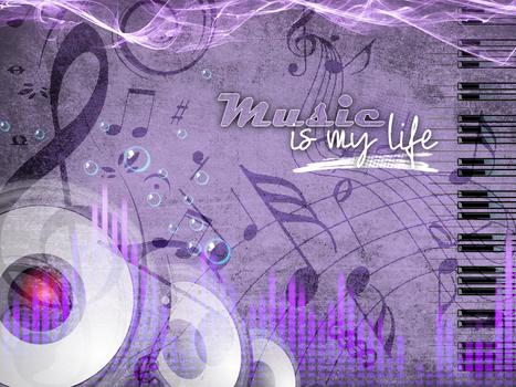 Fond D'ecran - Music Is My Life