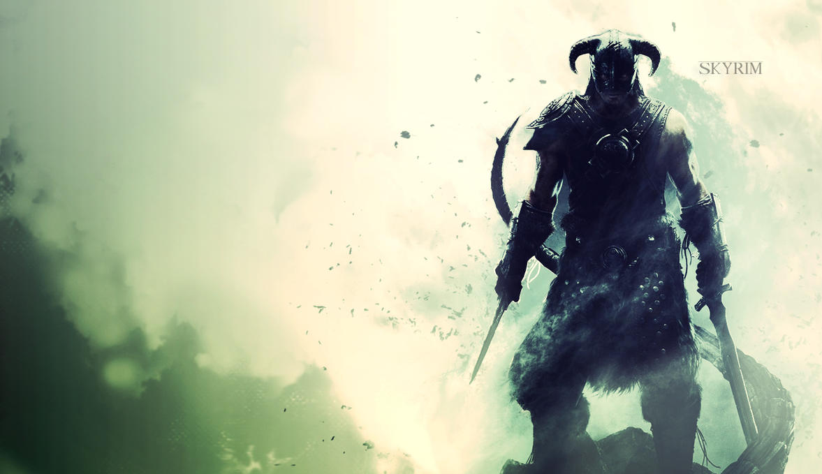 Elder Scrolls V Skyrim HD Wallpaper > Skyrim 壁紙 1366x