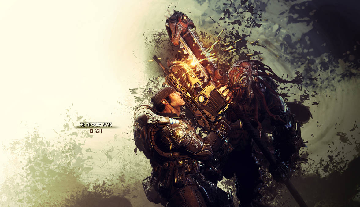 Gears Of War Wallpaper Clash By Damienkerensky On Deviantart