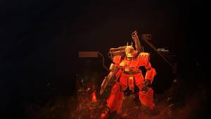 Guncannon - Mobile Suit Gundam Wallpaper by damienkerensky